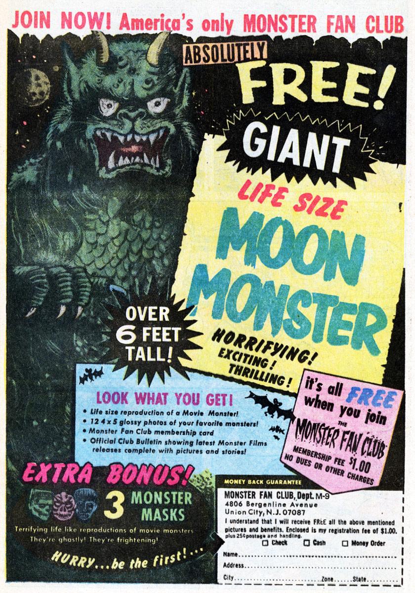 the legendary moon monster of comic book fame.