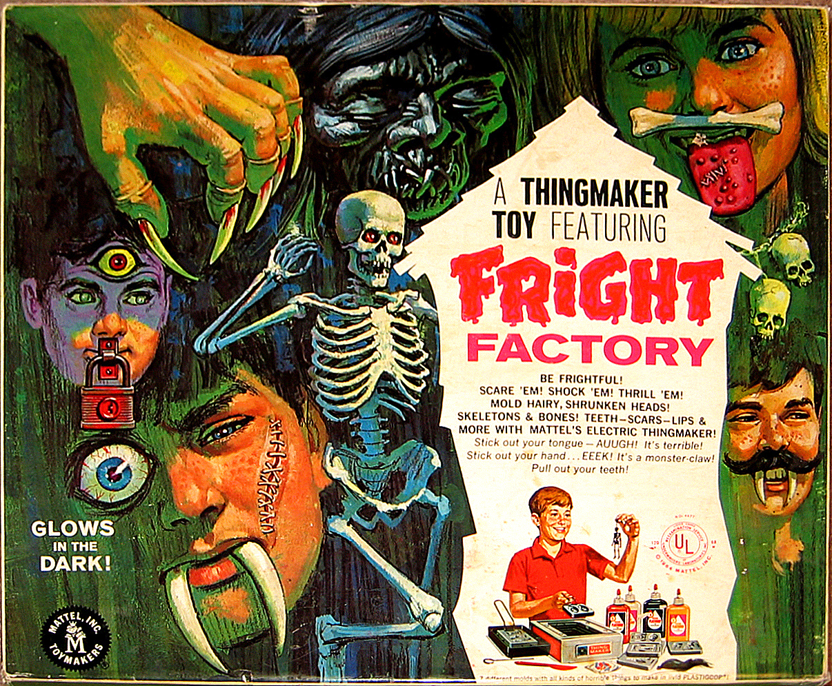 mattel thingmaker fright factory