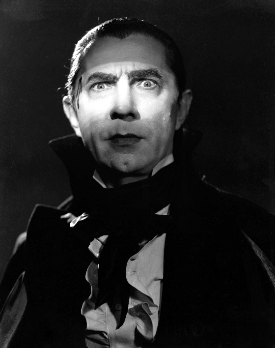the iconic bela lugosi as count dracula from universal.