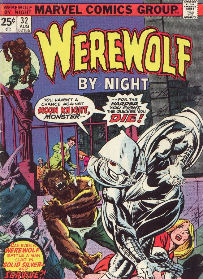 Werewolf by night 32 - the first appearance of moon knight