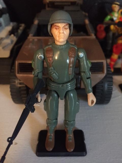 1982 Straight arm G.I. Joe Grunt