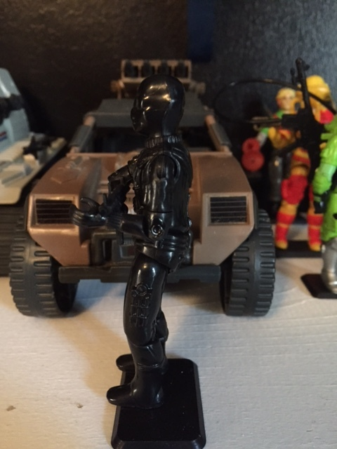 The mysterious commando was one of the most popular figures in the early wave of G.I. joe figures and after the ninja aspect of his character was added he became even more popular. later releases changed his look fairly significantly adopting the ninja aspects that were added.