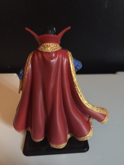 The paint APPLICATION on the trim of the cape and neck are a nice touch.  the marvel universe Dr. Strange action figure is an exceptionally nice figure.