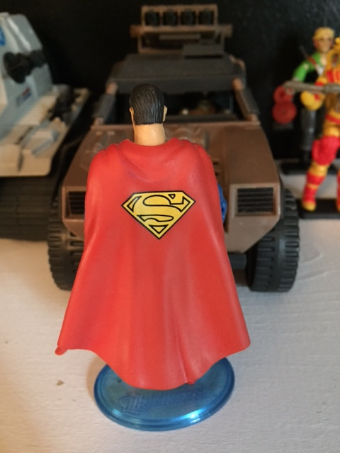 Even the painted superman symbol on the cape is amazing.