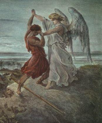 jacob verses the angel