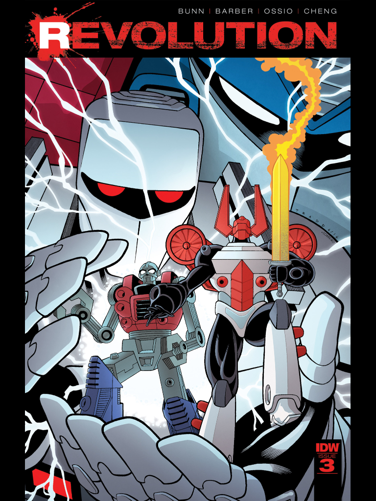 IDW Revolution issue 3 - best thing about the issue is the awesome cover.