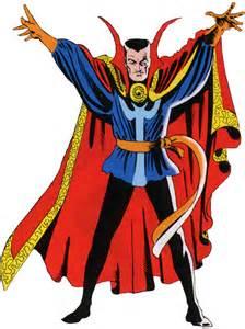 the iconic steve ditko dr. Strange