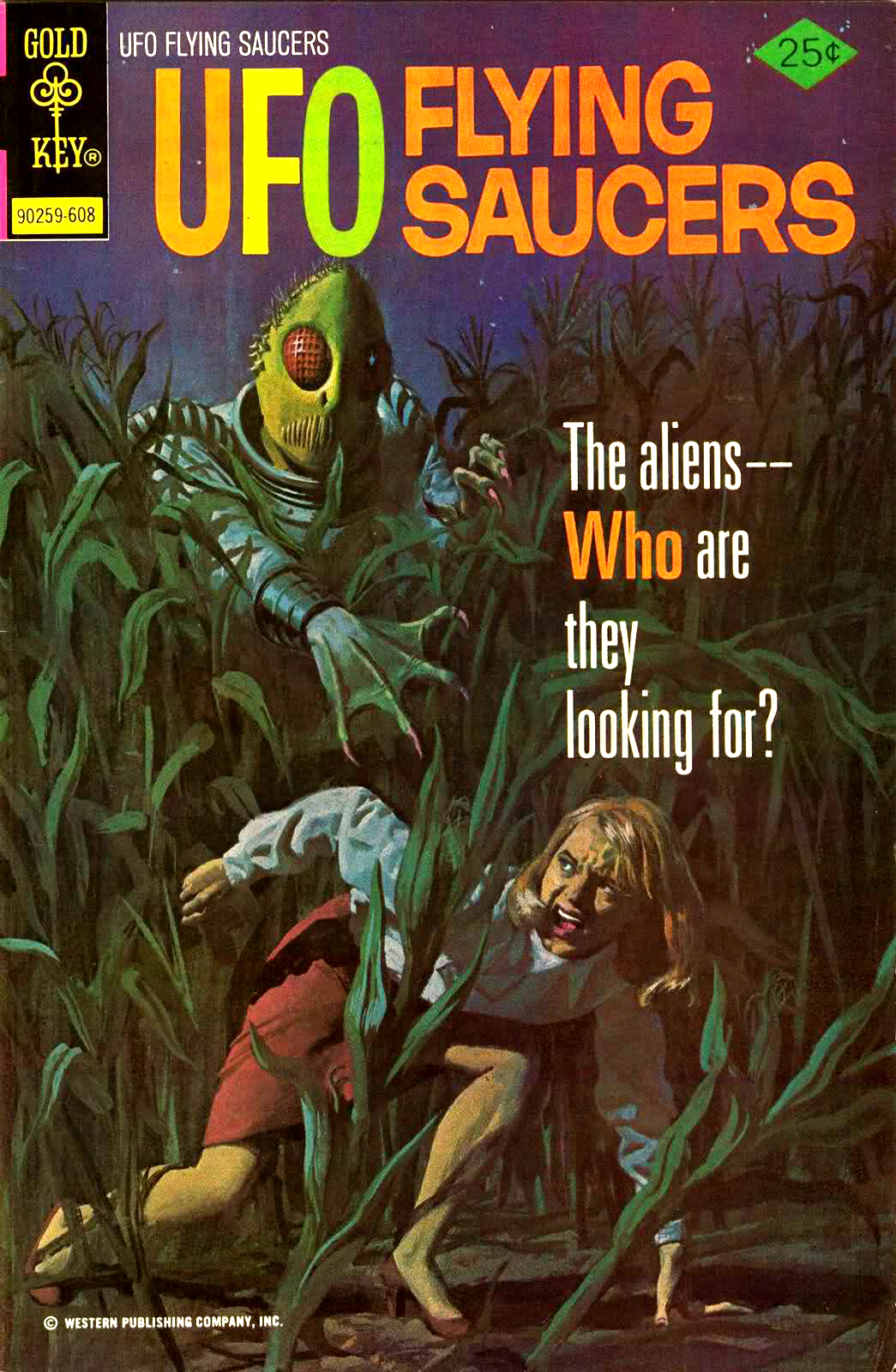 UFO Flying Saucers featured amazing painted covers.