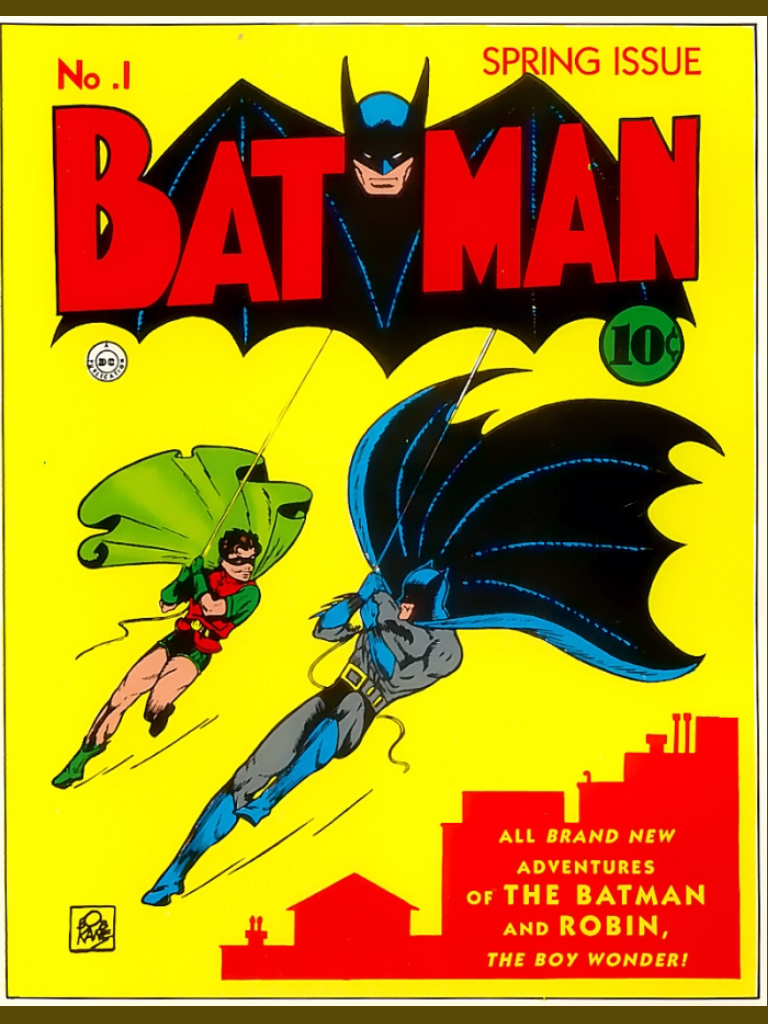 The cover of Batman issue 1 (1940)