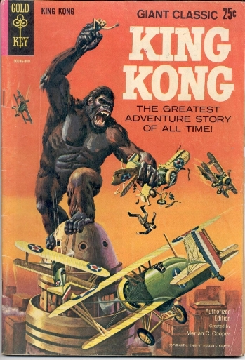Epic and iconic king kong imagery!