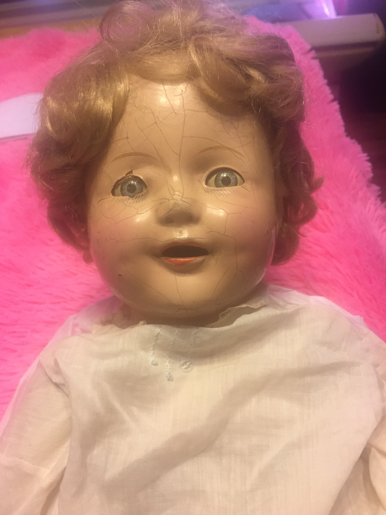 over 80 year old doll we talked about on episode 18 on the when it was cool podcast.