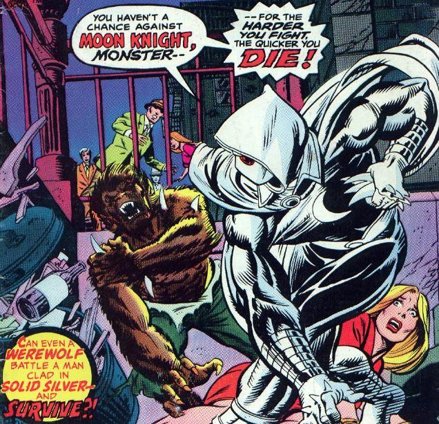 Werewolf by night issue 32 - 1975
