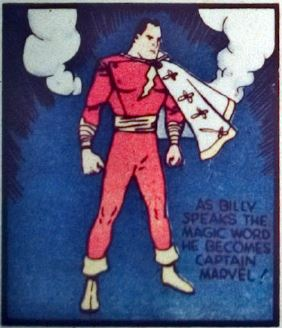 Captain marvel from whiz comics #2