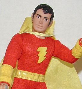in the 1970's there was a big rebirth of captain marvel popularity. his mego action figure was among the more popular early mego figures.