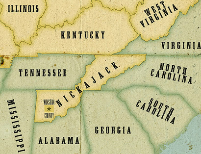 The proposed state of nickajack.