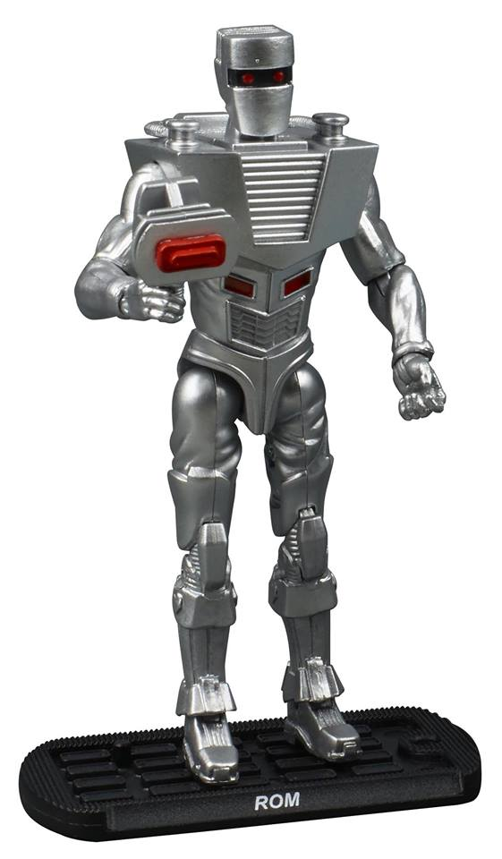 The new ROM 3.75 inch action figure.