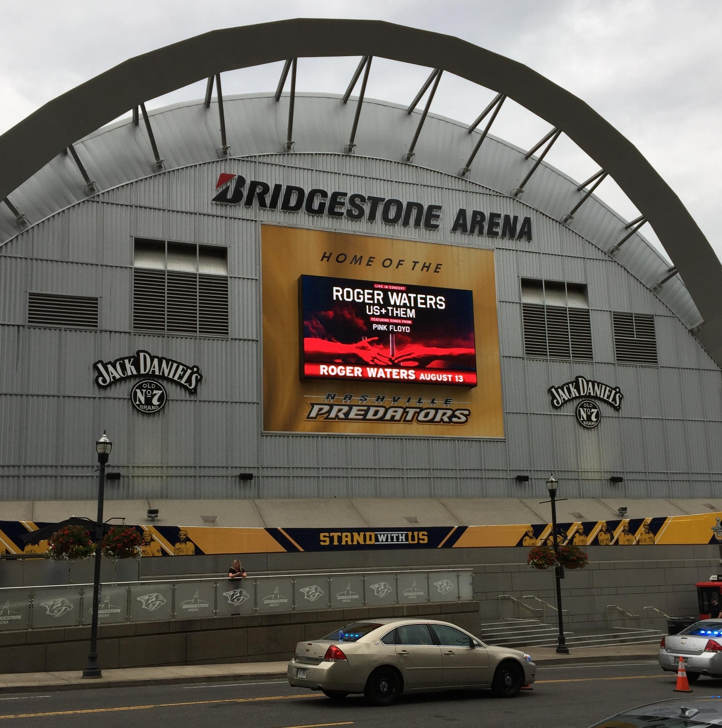 bridgestone arena in nashville, TN