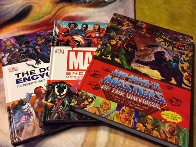 Bravo to Dark Horse for making the he-man and the masters of the universe: A Character Guide and World Compendium comperable in size to the other hard back encyclopdias.