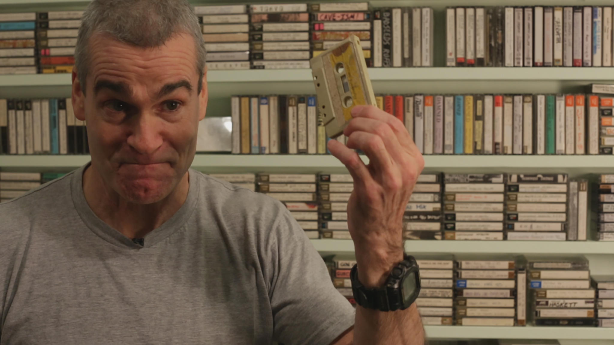 Henry Rollins knows why the cassette tape is awesome.