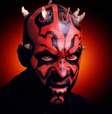 One of the few redeeming qualities of this abomination of a movie is the menacing sith - darth maul