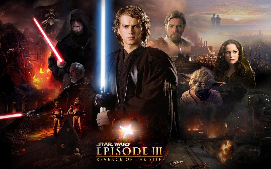 Star Wars episode 3 - Darth Vader breaks bad.