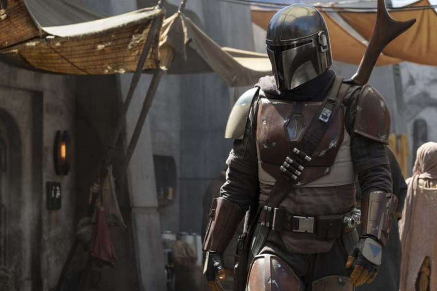 It might not be the Boba Fett we wanted but might be the one we deserve. Publicity photo from the Star Wars Mandalorian TV series.