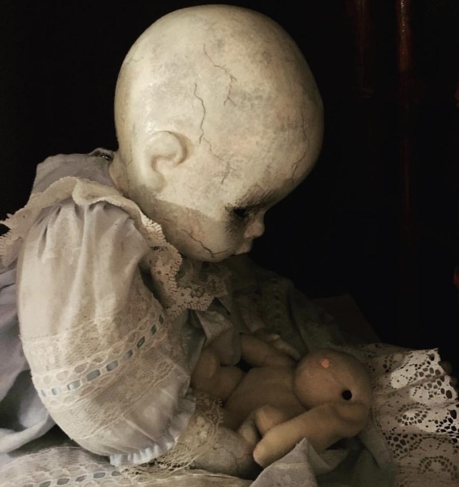 Photo courtesy of   Adopt a Creepy Doll