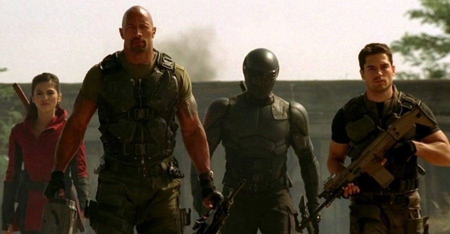 "Jinx, roadblock, snake eyes, and flint appear in the 2013 G.I. Joe: Retaliation Movie. While generally better received than Rise of Cobra, the movie still was a middle of the road offering despite the casting of dewayne ""the rock"" johnson as roadblock"