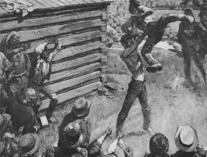Abraham Lincoln wrestling Armstrong.jpg