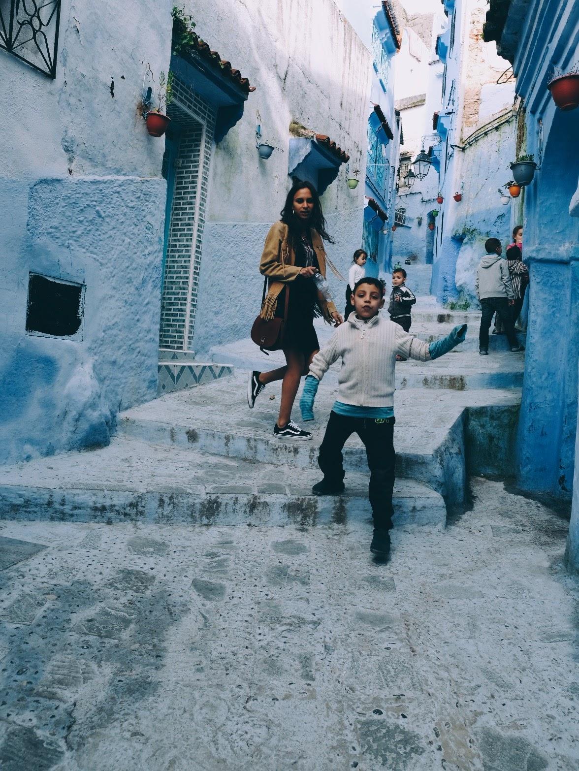 chaoui kids, morocco