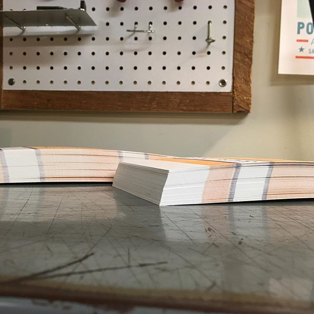 #letterpress #stacks