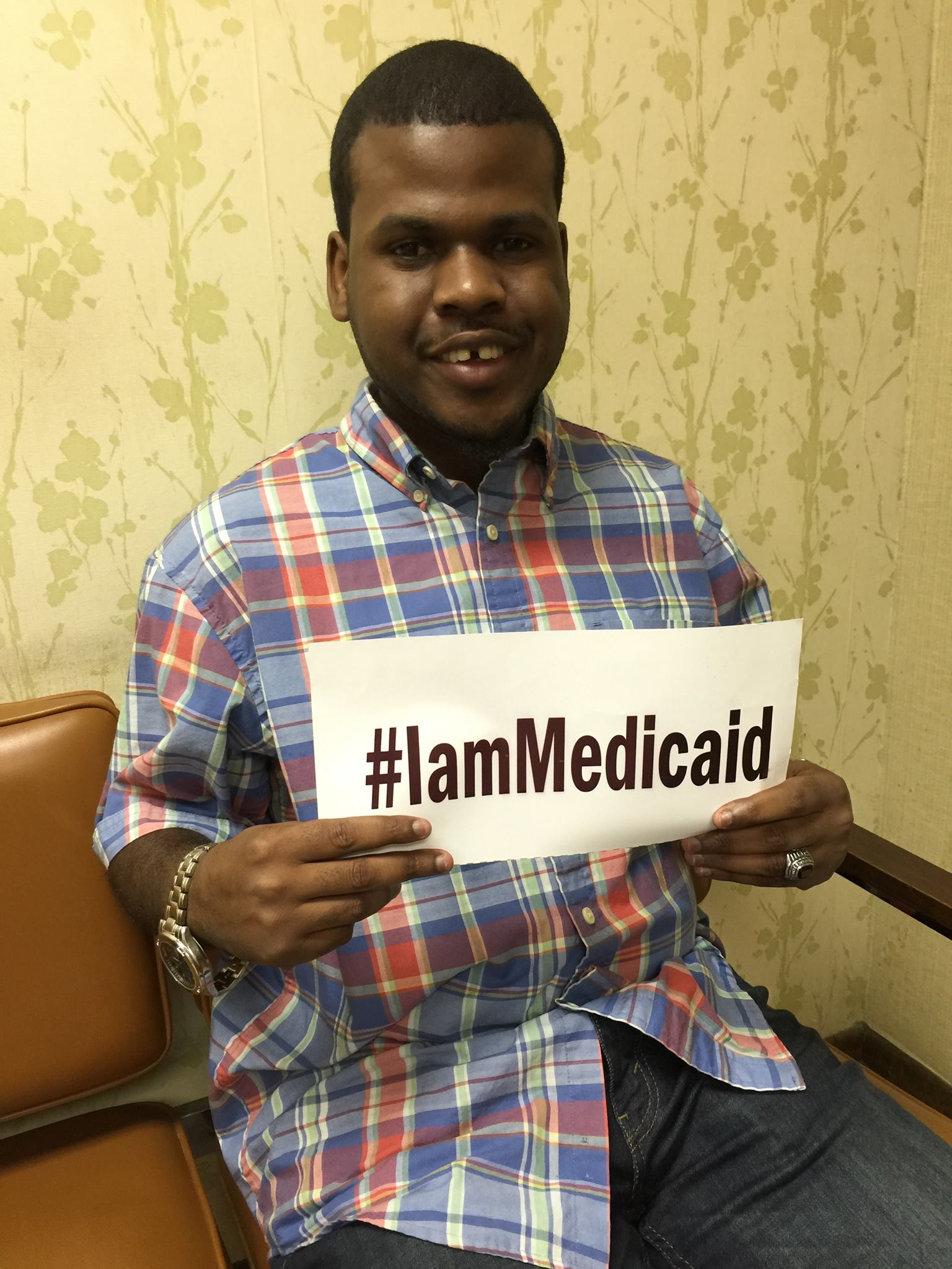I was born with hydrocephalus and have 2 shunts. 3 years ago I developed a lymphoma. Thank you Medicaid for my care!  ‪   ‪#‎IamMedicaid