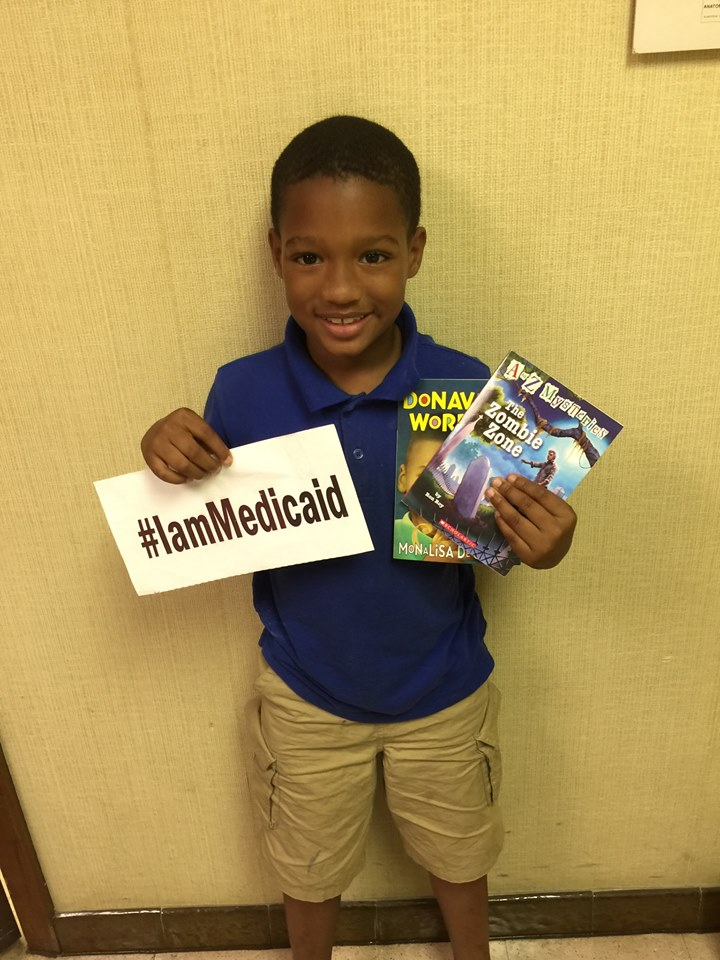 I have trouble paying attention in class but I'm doing better on my meds. My Doctor says I am able to read both these books so I will try. Thanks Medicaid! ‪#‎IamMedicaid
