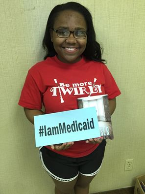 I just graduated as high school valedictorian. I'm going to Auburn with a full scholarship. Thanks Medicaid for my health insurance. I plan to be a pediatrician! #IamMedicaid