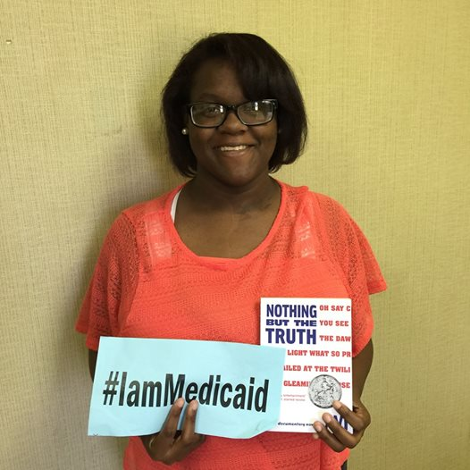My twin and I have Type 2 Diabetes. Thanks Medicaid insurance for my lab work, my medicine and my care! #IamMedicaid