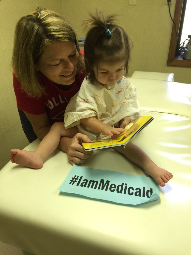 My cancer in remission! Thanks Medicaid for the best care. Hope to get this trach out soon. I love reading. #IamMedicaid