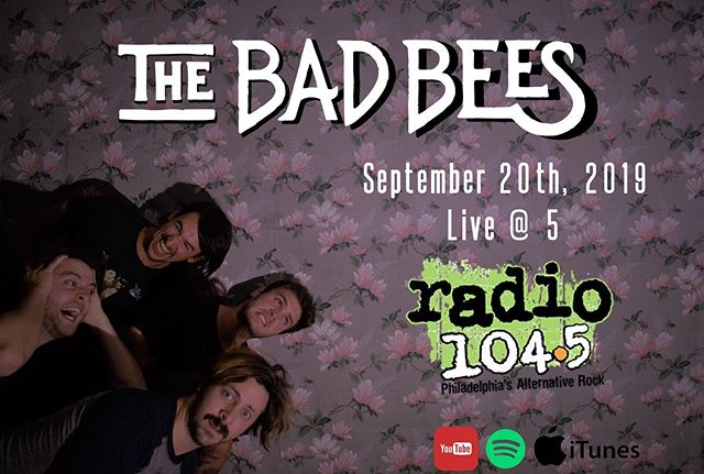 "September 20th we will be playing our new single ""Always Restart"" on Live @ 5 on @radio1045 afterwards join the party @ortliebsphilly where we will be performing our new ep in its entirety! #radio1045 #newep #thetimeittakes #newsinglealert #alwaysrestart"