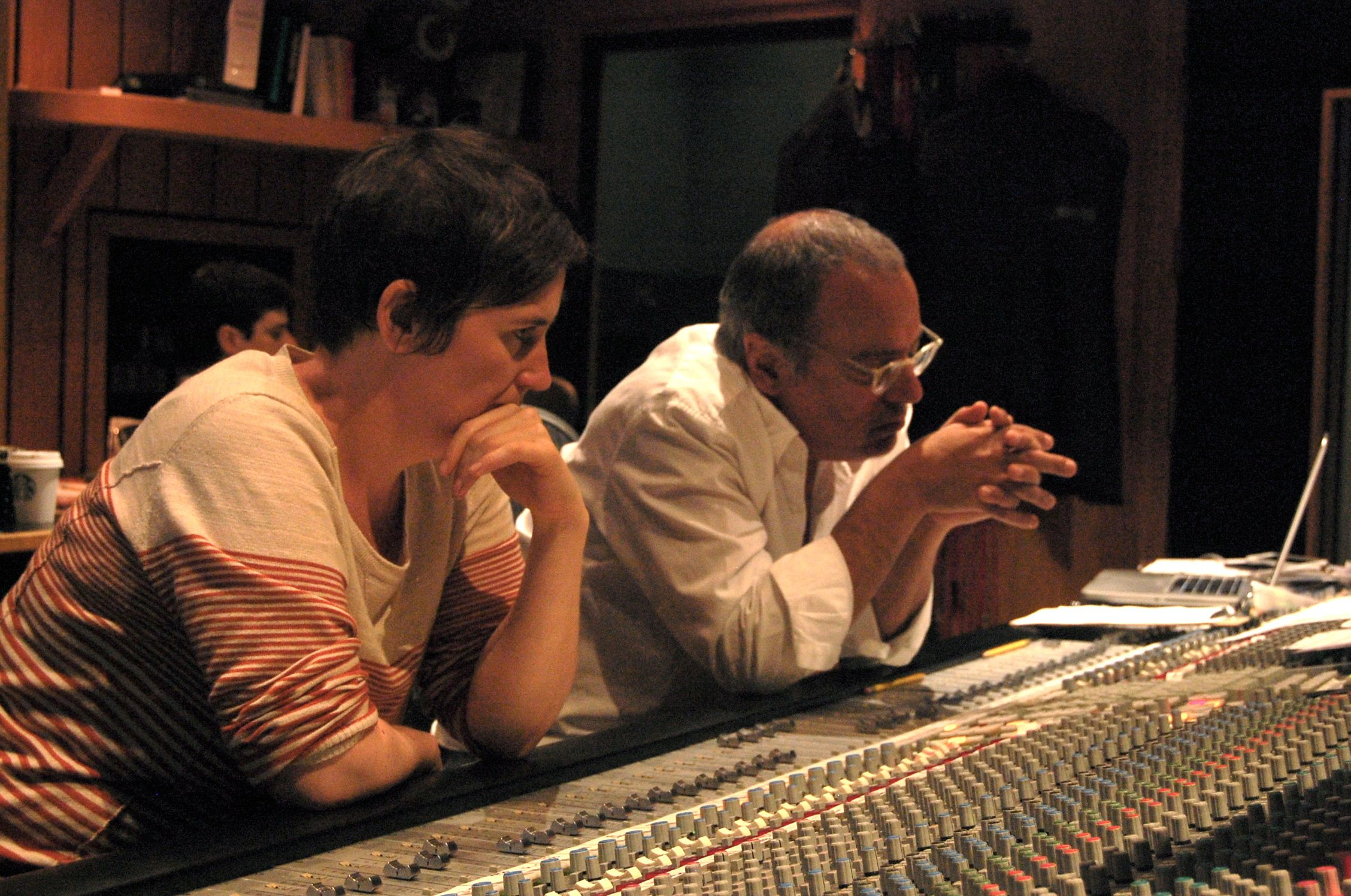 """""""Lynne is a musical, facile and a super- conscientious engineer. A generous and sweet presence in the studio, it's been a joy for me to work with her!"""" –  Larry Klein (Producer)"""