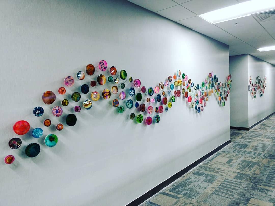 29' Petri Dish Wall
