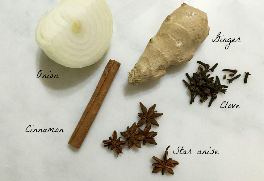 pho broth spices