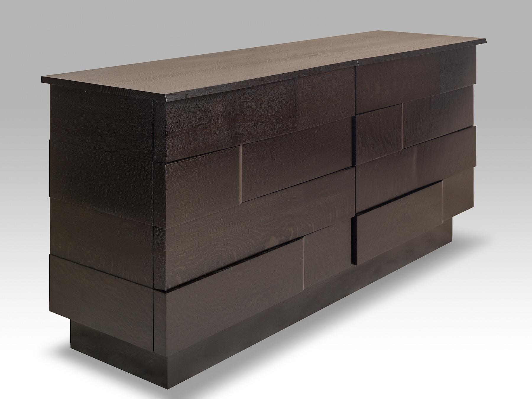 Ooku3 Series White Oak Dresser