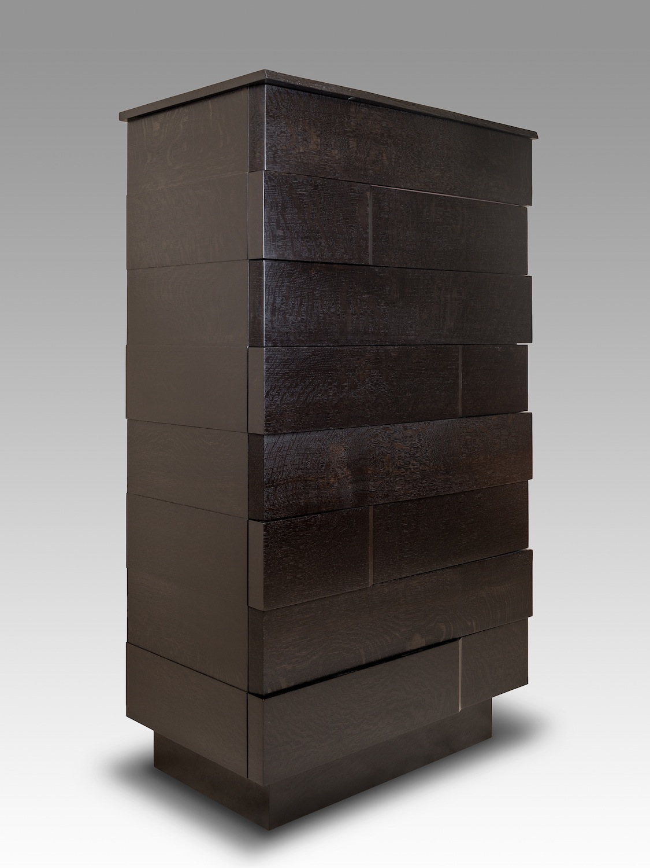 Ooku Series3 White Oak Dresser