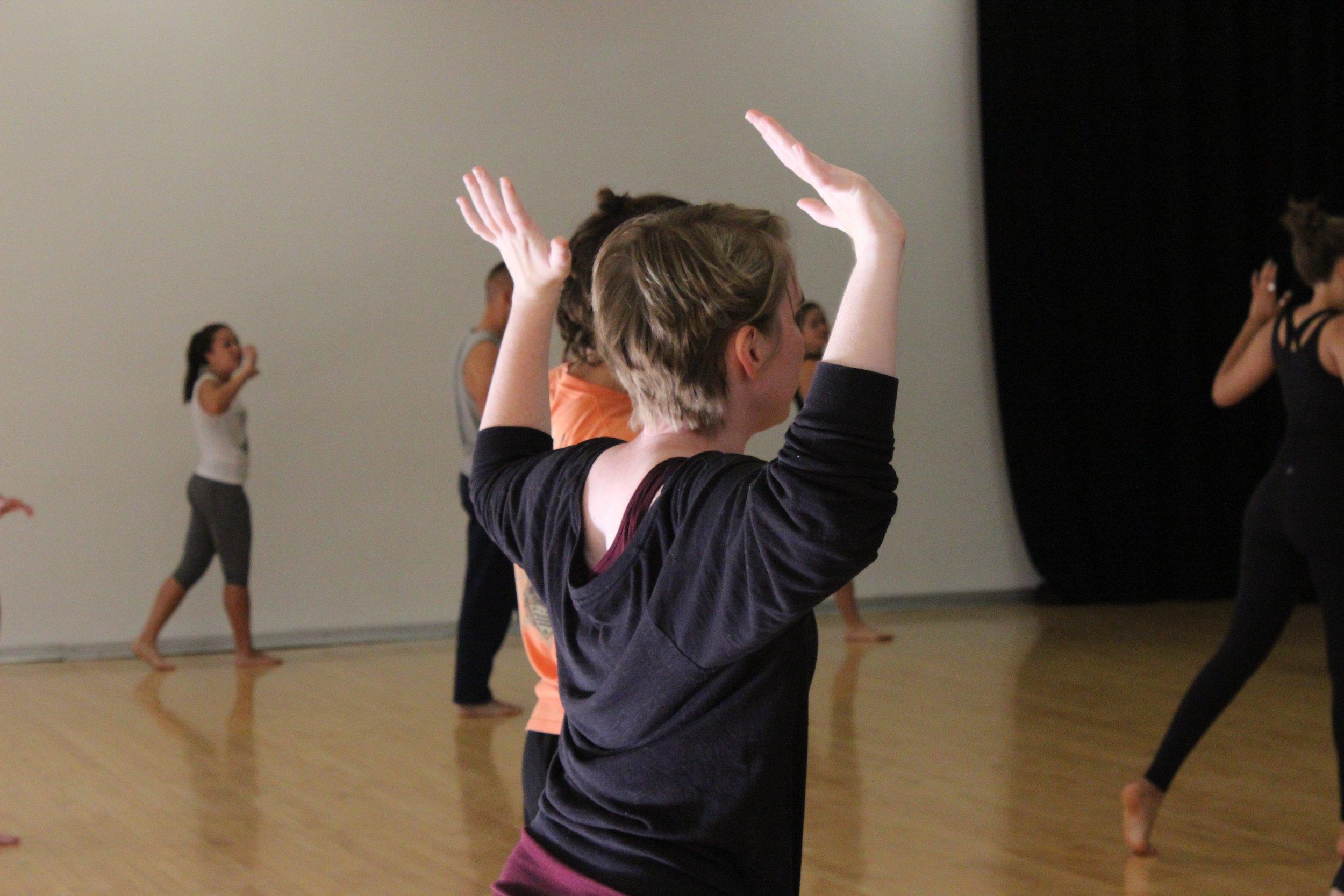 Intro to Modern Dance 2015- University of Michigan