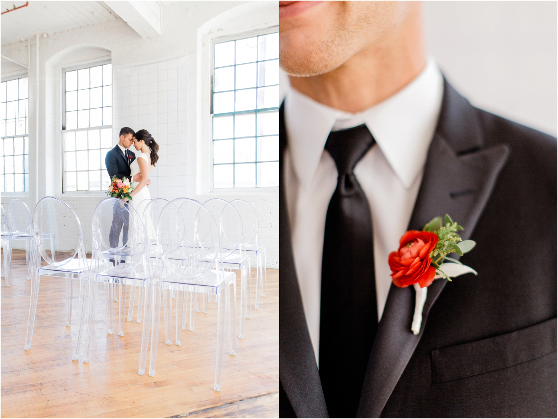 Grand Rapids, MI Minimalist Modern Wedding Ceremony