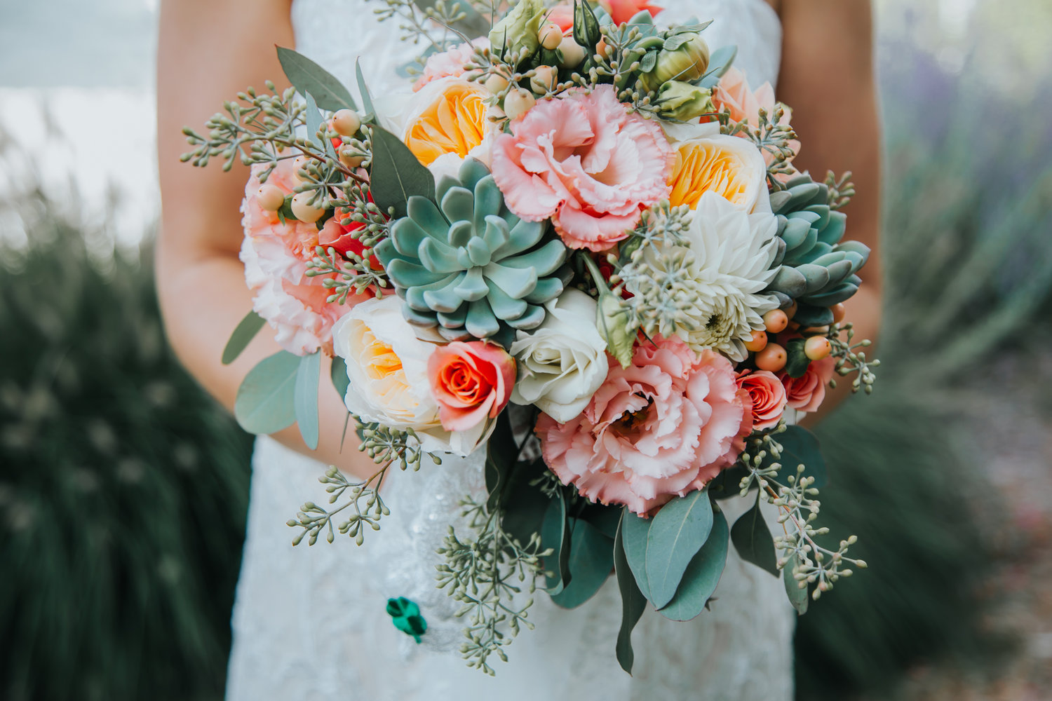 Bridesmaids bouquets start at $65 each    Bridal bouquets start at $200 each