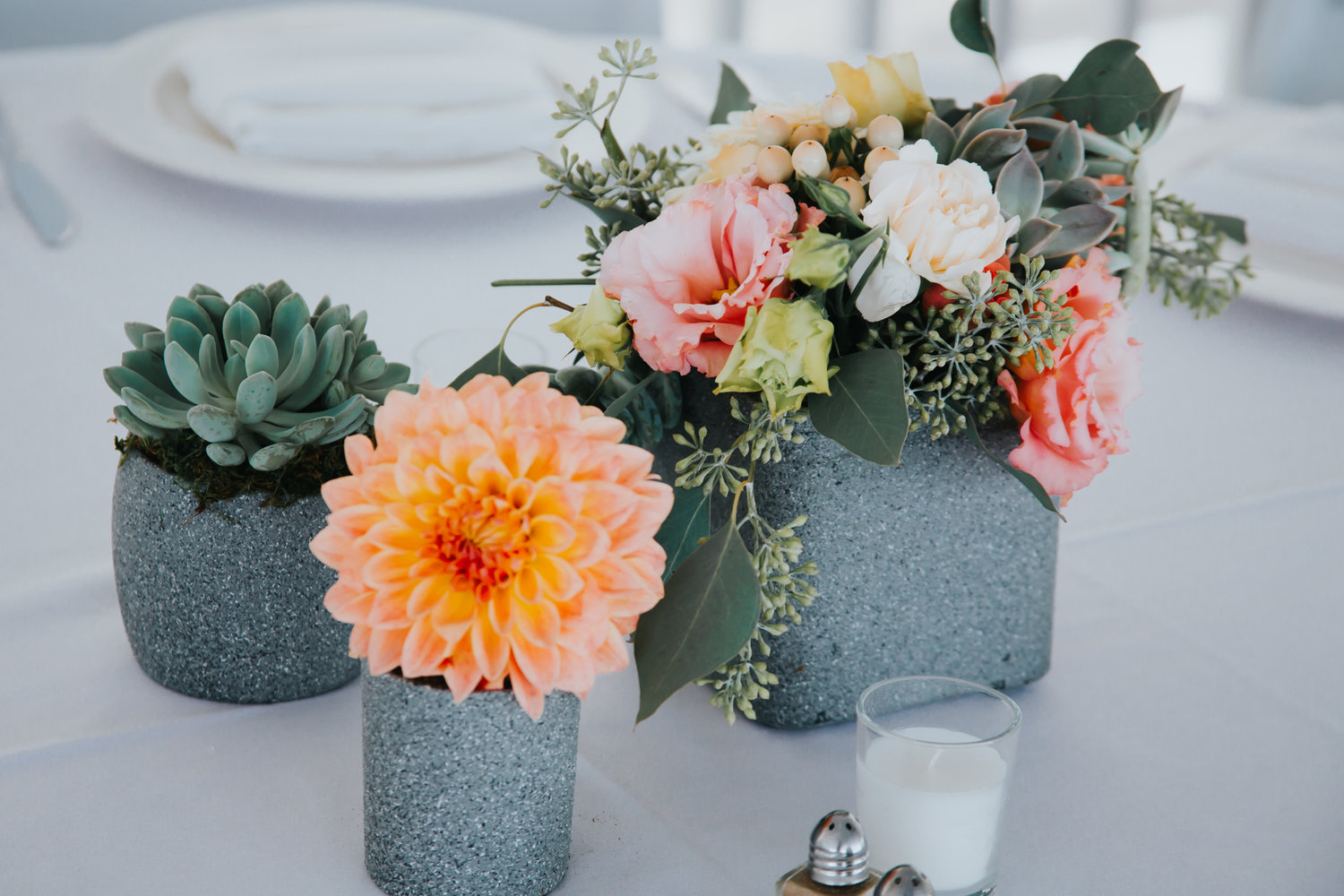 Reception Centerpieces starts at $75