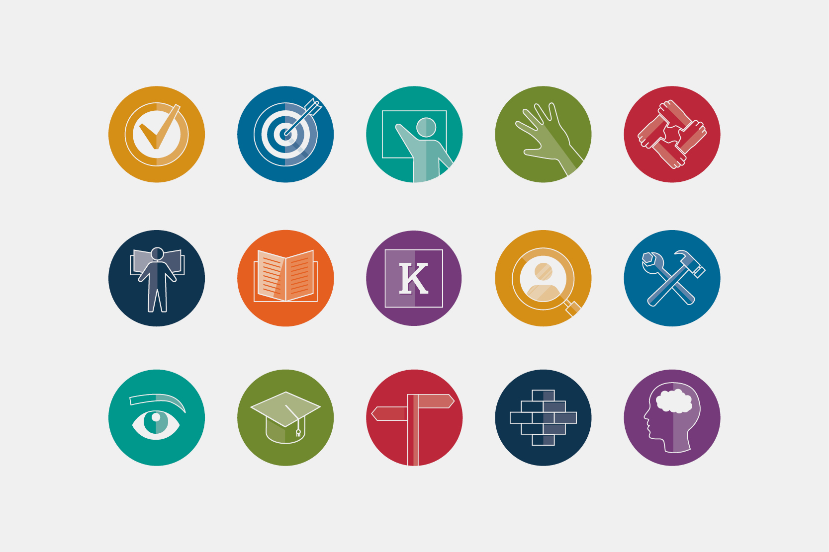 Indevelop brand icons