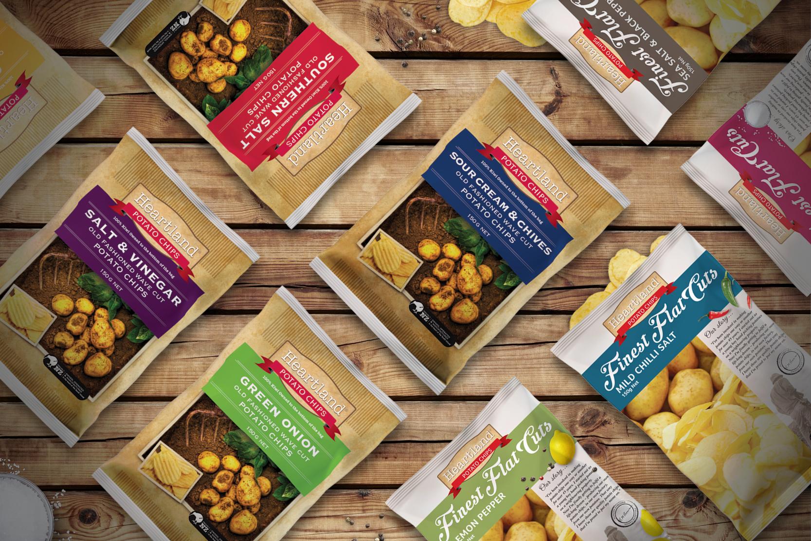 Heartland chip packaging