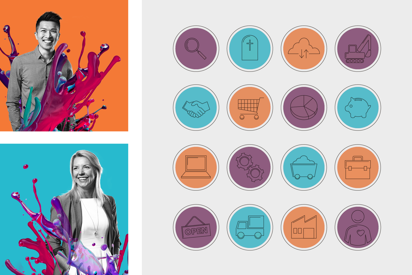Enabling badges and brand identity