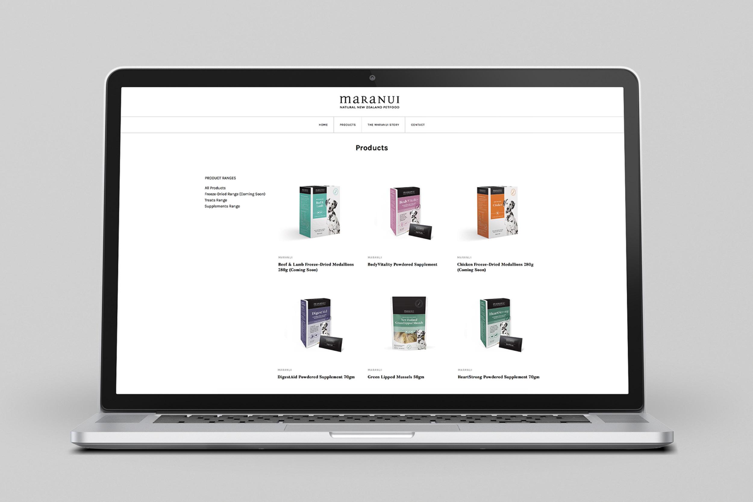Maranui Website